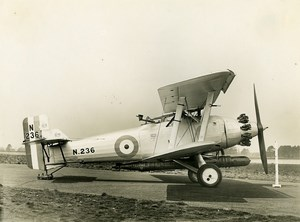 United Kingdom Aviation Blackburn Beagle Aircraft N236 Old Photo 1928