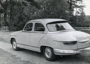 France Automobile Car Panhard PL 17  Old Photo 1963