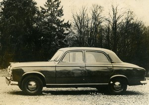 France Automobile Car 403 Peugeot Old Photo 1949