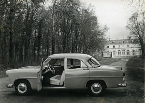 France Automobile Car Simca Ariane Old Photo 1957