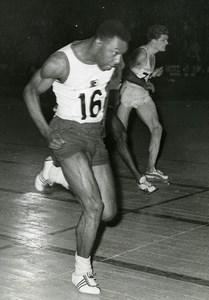 France Paris Palais des Sports Athletics Carper et Delecour Old Photo 1959