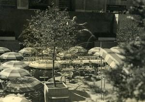 USA New York Café Terrace Old Houston Rogers Photo 1930's