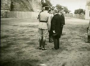 Spain Toledo Alcazar King Alfonso President Poincare Cadet School Old Photo 1913