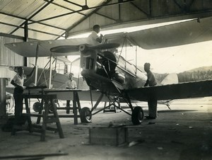 Indonesia Sumatra Private Aviation de Havilland DH82A Tiger Moth Old Photo 1935