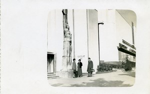 Belgium Brussels World Fair Bikes & Trucks Pavilion Old Photo RPPC 1935