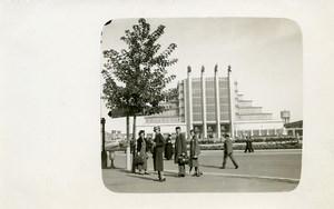 Belgium Brussels World Fair Palais des Expositions Old Photo RPPC 1935