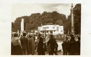 Belgium Brussels World Fair Le Soir Pavilion La Vie est belle Photo RPPC 1935