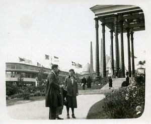 Belgium Brussels World Fair Parc & Catholic Life Pavilion Old Photo 1935