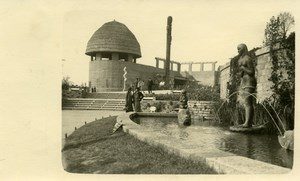 Belgium Brussels World Fair Colonial Industries Pavilion Old Photo RPPC 1935