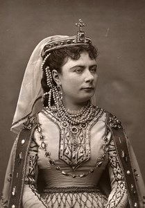 France Opera Singer Soprano Berthe Thibaut Woodburytype Photo Gougenheim 1875