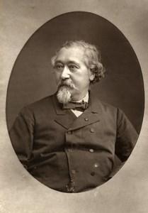 France Engineer Jean Baptiste Krantz Old Woodburytype Photo Liebert 1875