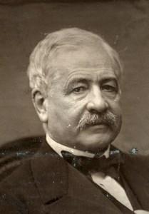 France Engineer Ferdinand de Lesseps Old Woodburytype Photo Pierre Petit 1875