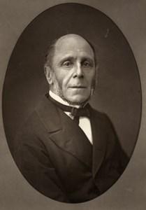 France Political Louis Joseph Martel Old Woodburytype Photo Mulnier 1875