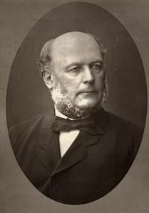France Political Jules Grevy Old Woodburytype Photo Mulnier 1875