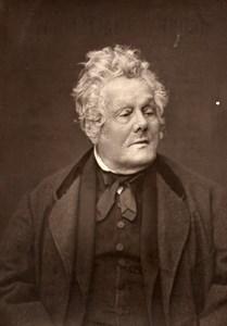 France Political Adolphe Cremieux Old Woodburytype Photo Mulnier 1875