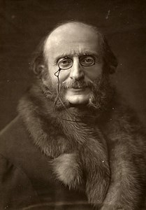 France Composer Jacques Offenbach Old Woodburytype Photo Nadar 1875