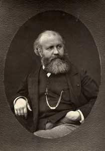 France Composer Charles Gounod Old Woodburytype Photo Nadar Mulnier 1875
