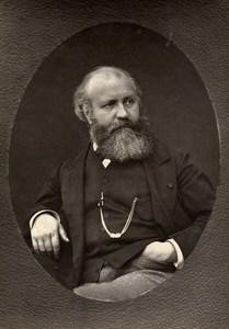 France Composer Charles Gounod Old Woodburytype Photo Nadar Mulnier 1875