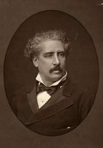 France Composer Olivier Metra Old Woodburytype Photo Mulnier 1875