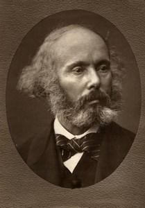 France Composer Felicien David Old Woodburytype Photo Mulnier 1875