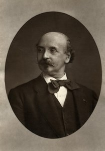 France Author Emmanuel Gonzales Old Woodburytype Photo Truchelut 1875