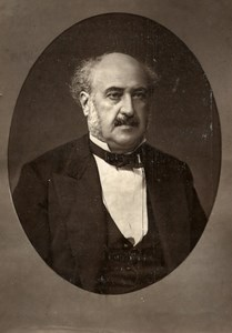 France Author Jules Simon Old Woodburytype Photo Lopez 1875