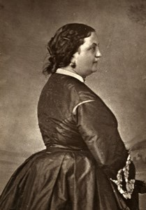 Comedie Francaise Actress Zaire Martel nickname Nathalie Old Photo Frank 1875