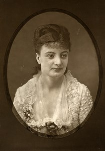 France Comedie Francaise Actress G Tholer Old Woodburytype Photo Frank 1875