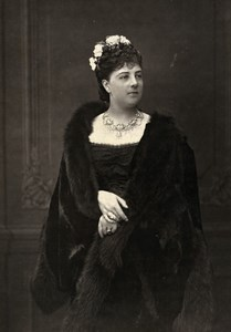 France Comedie Francaise Actress Miss Lloyd Old Woodburytype Photo Mulnier 1875