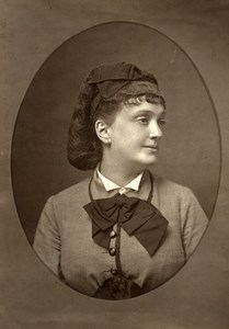 France Theater Stage Actress Antonine Old Woodburytype Photo Mulnier 1875