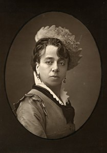 France Theater Stage Actress Victoire Elisa Mace Montrouge Photo Tourtin 1875