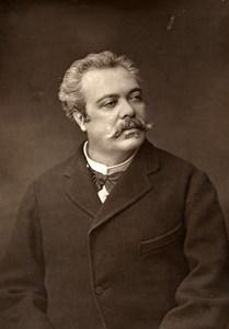 France Opera Singer Eugene Bataille Old Woodburytype Photo Mulnier 1875