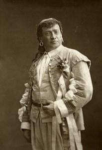 France Opera Singer Grivot Old Woodburytype Photo Nadar 1875
