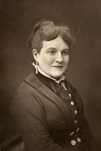 France Opera Singer Contralto Marie Lheritier Woodburytype Photo Mulnier 1875