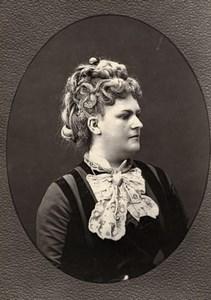 France Opera Singer Sophie Cruvelli Old Woodburytype Photo Mulnier 1875