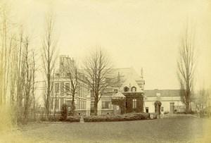 France Marcq en Baroeul Family House Old Amateur Photo 1896