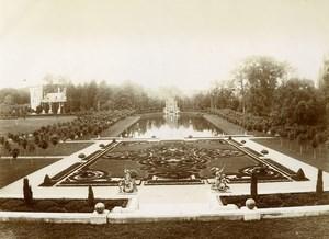France Eure Conde sur Iton Castle Garden Count Jarnac Old Photo 1890
