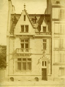 France Paris or Lille ? House Architect Victor Mollet Old Photo 1890