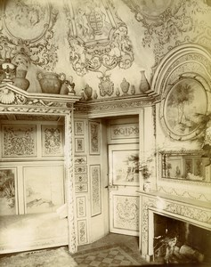 France Manche Cherbourg Tourlaville Castle Countess Ravalet Bedroom Photo 1890