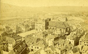 France Belfort Siege Bombing September Old Photo 1870