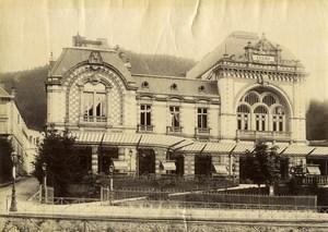 France Auvergne la Bourboule Casino Puy-de-Dôme Old Photo 1890
