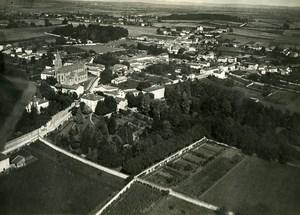 France Rhone Genas panorama 69740 Old Aerial Photo 1930