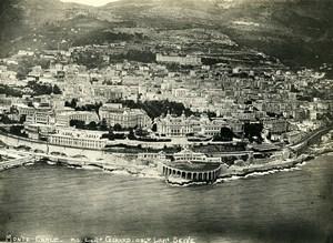 Monaco Monte Carlo Casino Seafront Pilot Girard Observer Seive Aerial Photo 1920