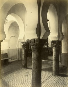 Spain Toledo Mosque Cristo de la Luz Architecture Old Photo Alguacil 1870