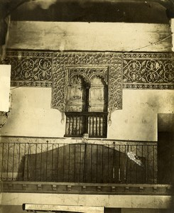 Spain Toledo Arab Mudejar Palace Casa de Mesa Architecture Photo Alguacil 1870