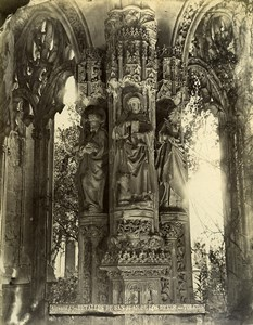 Spain Toledo Monastery Cloister of San Juan de los Reyes Old Photo Alguacil 1870