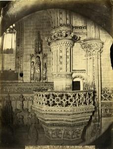 Spain Toledo Monastery of San Juan de los Reyes Old Photo Alguacil 1870