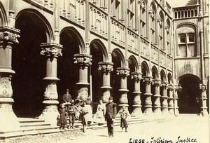 Belgium Liege Luik Prince-Bishops' Palace Palais de Justice Old Photo 1890