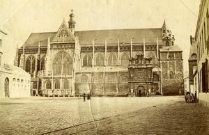Belgium Liege Church Saint-Jacques-le-Mineur Sint-Jacobskerk Old Photo 1890