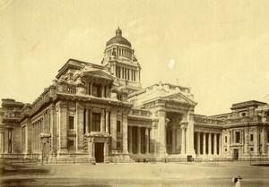 Belgium Brussels Palais de Justice Courthouse Old Photo 1890